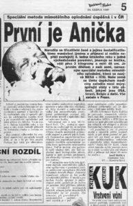 Večerník Praha, 14.1.1997
