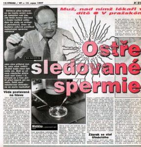 Večerník Praha, 15.8.1997